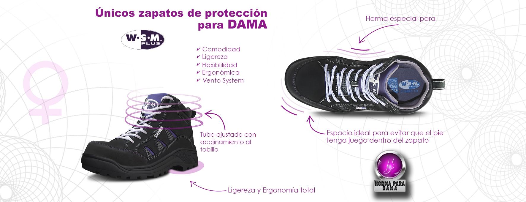 zapato de protección para dama2